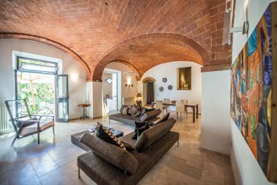 TOWNHOUSE FOR SALE TUSCANY, TERRACE, GARDEN, POOL, SINALUNGA