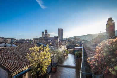 CITTÀ DI CASTELLO: PENTHOUSE FOR SALE IN THE HISTORIC CENTRE