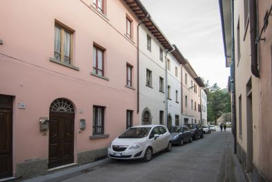 TOWN HOUSE WITH GARAGE FOR SALE, HISTORIC CENTRE PIEVE SANTO STEFANO