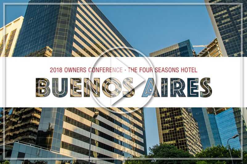 CHRISTIE'S INTERNATIONAL REAL ESTATE, OWNERS CONFERENCE - BUENOS AIRES, 2018