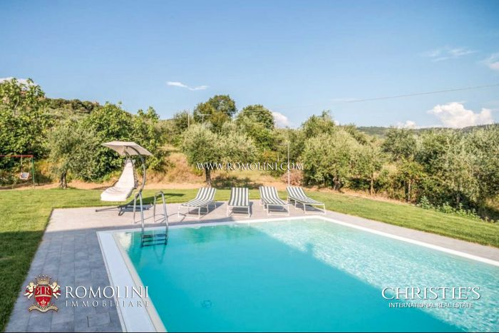 ECO-SUSTAINABLE VILLA FOR SALE CORTONA TUSCANY