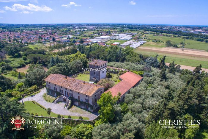 STUNNING SEA VIEW ESTATE CAMAIORE AND VERSILIA COAST