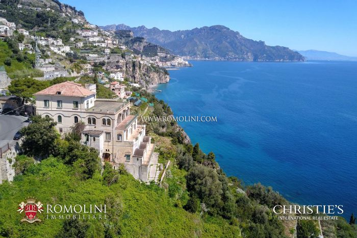 AMALFI COAST A RENOVATION PROJECT FOR A BOUTIQUE HOTEL LUXURY VILLA FOR SALE