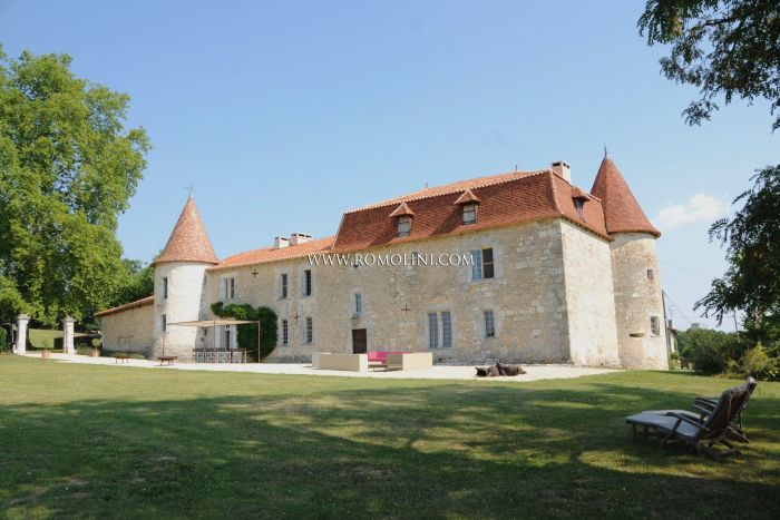 15TH CENTURY CHATEAU FOR SALE COGNAC, FRANCE