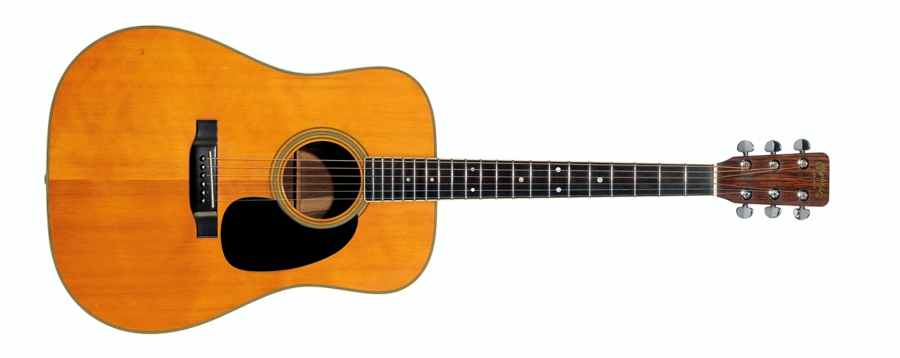 C. F. Martin & Company, D-35 Acoustic Guitar, Nazareth PA, 1969 – Sold for $ 1,095,000